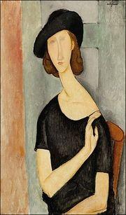 Jeanne Hebuterne by Modigliani