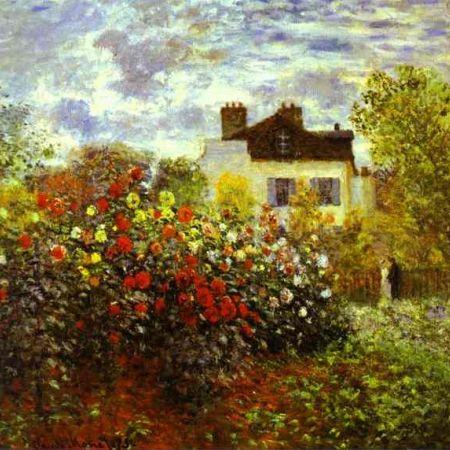 Monet Garden at Argenteuil