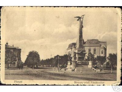 Ploiesti - Monumentul Vanatorilor