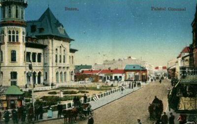 Buzau - Palatul Comunal
