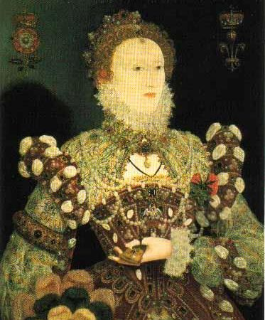 queen elizabeth 1 of england. to Queen Elizabeth I for