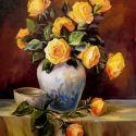 Trandafiri aurii