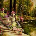 Romanta lacului cu flori