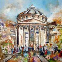 Ateneul acompaniat de flori