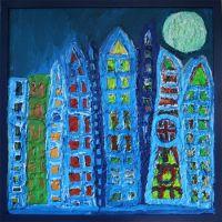 Moonlit Metropolis