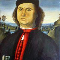 Pietro Perugino. Portrait of Francesco delle Opere. 1494