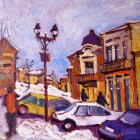 Iarna pe strada Savenilor