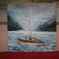 Barcă pe Dunăre