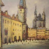 Peisaj in Praga I
