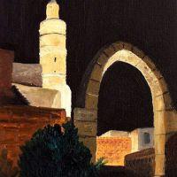 Turnul lui David noaptea