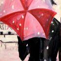 Femeie cu umbrela