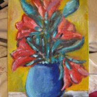 Flori roșii 4