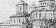 Hanul si Biserica Sf Gheorghe nou inainte de 1804