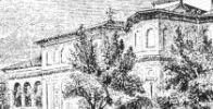 Hanul si Biserica Sf Gheorghe Nou la 1841