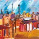 Peisaj industrial din Ramnicu Sarat