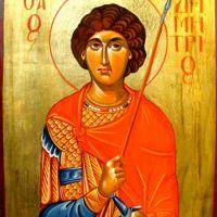 Holy Great Martyr Demetrios