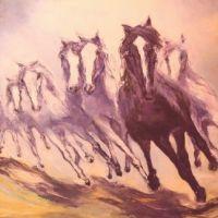TROOP OF HORSES
