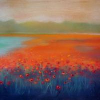 Poppies Landscape 1
