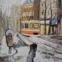 Doua fete pe strada