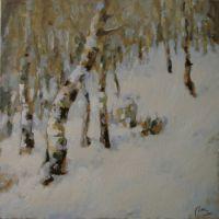 Iarna printre mesteceni