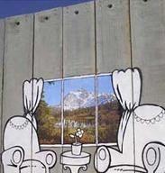 Protest inedit al artistului britanic  Bansky