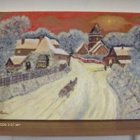 Iarna in satul meu