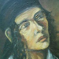 Self- portrait- 2004 (detail)