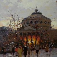 Prin vechiul Bucuresti, la Ateneu'