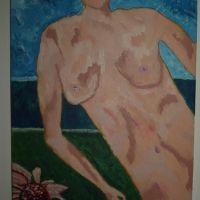 Nud cu floare