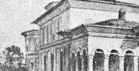 Hanul si Biserica sf Gheorghe Nou la 1837