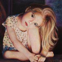 Portret in ulei Eliza