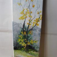 Peisaj 1-pictura ulei pe panza;MacedonLuiza