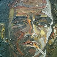 Self- portrait- 2006 (detail)