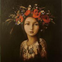 Coronita de flori de vara