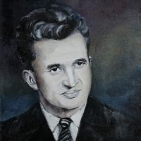 portret N. CEAUSESCU