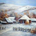 Ograda cu iarna