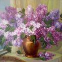 Liliac inflorit
