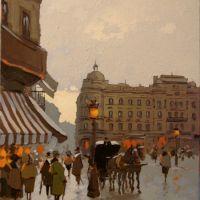 Prin vechiul Bucuresti, Calea victoriei,Hotel Bulevard
