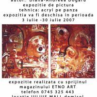 afis expozitie CITY OF LOVE