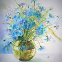 Cornflowers Bouquet 1