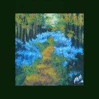 Padurea albastra
