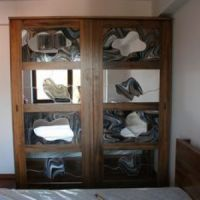 stainde glass wardrobe