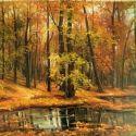 Frunze pe lac