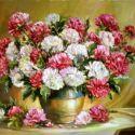 Crizanteme bicolore