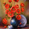 Cobalt si anemone