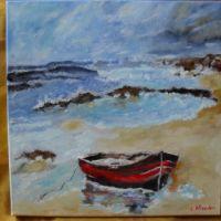 Marina 3-pictura ulei pe panza;MacedonLuiza