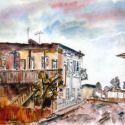Case vechi cu etaj din Ramnicu Sarat
