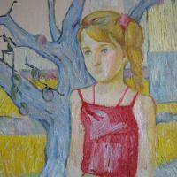 fata in rosu