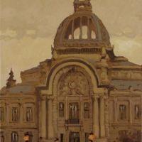 Prin vechiul Bucuresti ,Palatul CEC