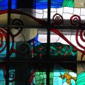 stained glass window Hotel Best Western Balvanyos